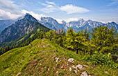 Panorama Strelovec, Landschaftspark Logar Tal