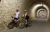Radfahren Tunnel Salet
