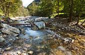 Fluss Koritnica