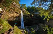 Pericnik Wasserfall