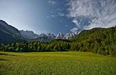 Nationalpark Triglav - Martuljek Gebirgskette