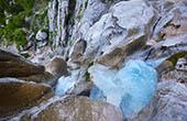 Oberer Martuljek Wasserfall, Nationalpark Triglav