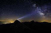Triglav bei Nacht