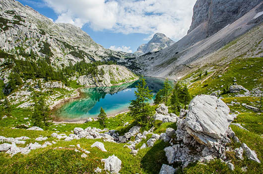 Landschafts- und Nationalparks in Slowenien