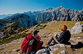 Aussicht Debela pec, Nationalpark Triglav