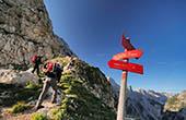 Markierte Wanderwege - Nationalpark Triglav