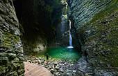Nationalpark Triglav, Wasserfall Kozjak