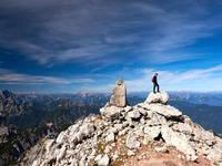 Berwandern - Gipfel Mangart