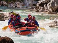 Soca Tal - Rafting Soca