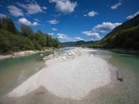 Soca Tal - Fluss Soca