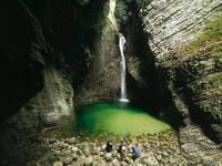 Soca Tal - Wasserfall Veliki Kozjak
