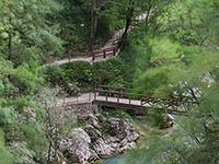 Tolminer Schlucht - Hudicev most