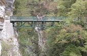 Tolminer Klammen - Brücke