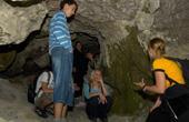 Schülergruppe - Dantehöhle