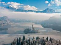 Aussicht Ojstrica - Bleder See
