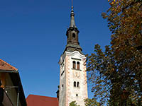 Glockenturm - Kirche Maria Himmelfahrt