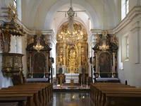 Innenraum Kirche Maria Himmelfahrt