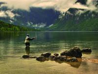 Angeln Bohinjer See