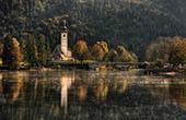 Bohinjer See Herbst