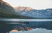 Bohinjer See, Kajak