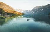 Kajak, Bohinjer See