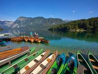 Bohinjer See - Kajaks & Kanus