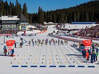 Biathlonwettkampf Pokljuka
