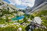 Großer schwarzer See - Tal der Triglav Seen