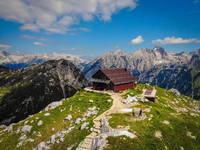 Berghütte Zasavska koca na Prehodavcih
