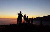 Sonnenuntergang Velika Planina