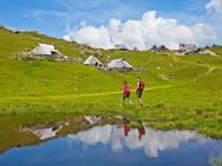 Wandern Velika planina