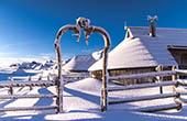 Hirtenhaus Winter
