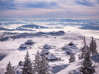 Hirtensiedlung Velika planina