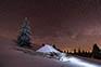 Velika planina - Winternacht