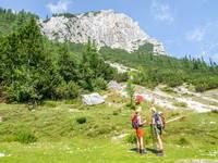 Wandern Vrsic Pass