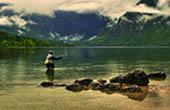 Bohinjer See, Fliegenfischen