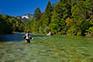 Fliegenfischer, Route - Sava Dolinka
