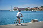 Radfahren slowenische Adria, Piran
