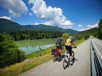 Trekkingbike-Tour Drau Radweg, Slowenien