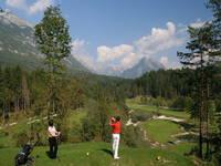 Golfplatz Bovec