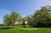 Abschlag, Golfplatz Lipica