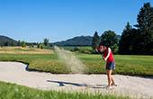 Sandbunker, Golf Ljubljana Smlednik