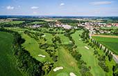 Vogelperspektive Golfplatz Moravske Toplice