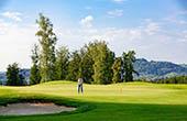 Golfer, Golfplatz Otocec
