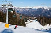 Cerkno Skigebiet - Abfahrtsski