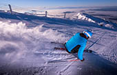 Skiabfahrt Krvavec