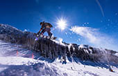 Snowboarder, Snowpark Krvavec