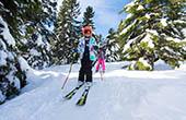 Skifahren, Kinder, Rogla