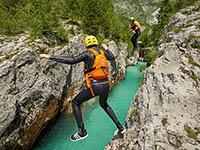 Canyoning - Slowenien