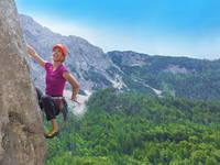 Klettern, Slowenien